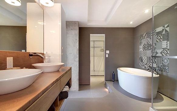 Salle de bain - Style épuré