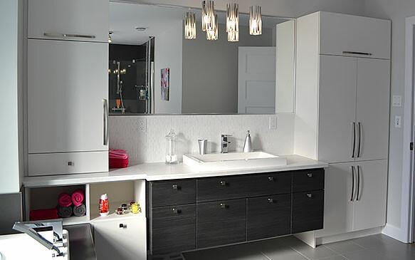 Salle de bain – style contemporain